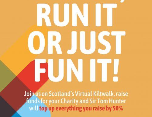 Virtual Kiltwalk 2021